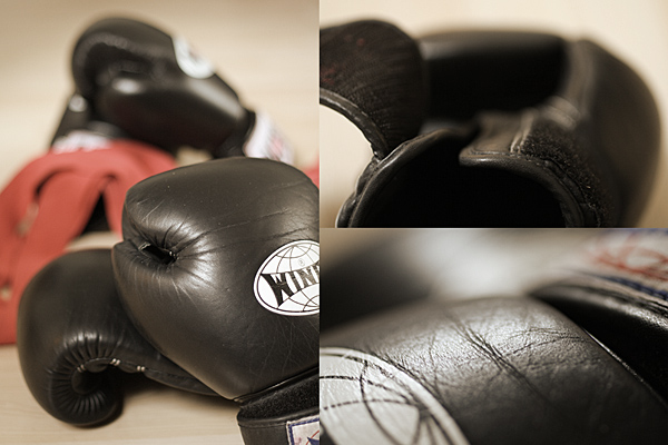 Boxhandschuhe / boxing gloves