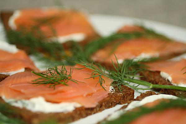 salmon bread