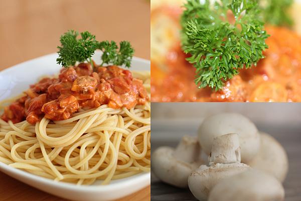 Pilzspaghetti