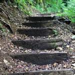 Endlose Treppenstufen